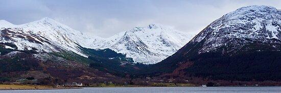 Beinn a' Bheithir Panorama by Tim Haynes