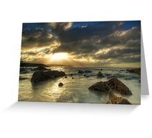 Clonea Strand II Greeting Card