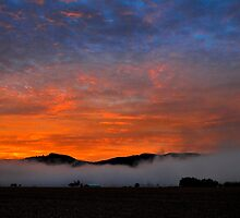 Early Valley Sunrise by Charles & Patricia   Harkins ~ Picture Oregon