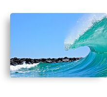 pitching lip at wedge Canvas Print