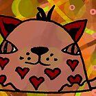 Mr Hearts by PoshCatDesigns