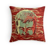 I am sinking here Throw Pillow