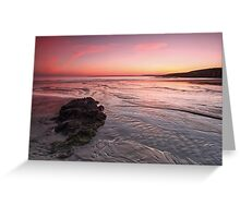 Inch Beach Greeting Card