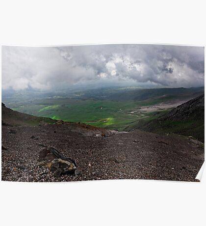 Manchuria landscape Poster