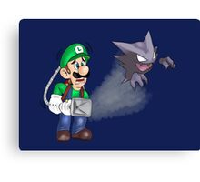 Hunting Haunters Canvas Print