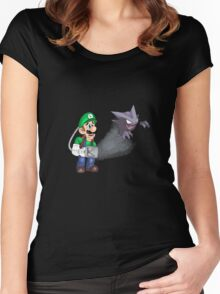 Hunting Haunters Women's Fitted Scoop T-Shirt