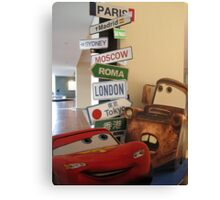 Signpost for Kids Canvas Print