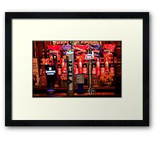 On Draught Framed Print