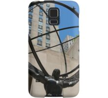 Atlas Takes Manhattan Samsung Galaxy Case/Skin
