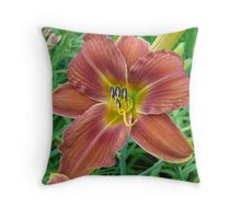 Colors of Summer IV Throw Pillow