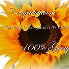 100% group Challenge Banner. by Susie Hawkins
