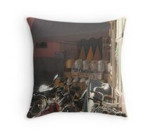 Bikes for Hire. Throw Pillow
