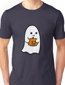 Cute Ghost's Jack o' Lantern Unisex T-Shirt