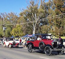 On parade in Tocumwal, NSW, Australia by Margaret Morgan (Watkins)
