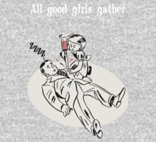 BioShock – All Good Girls Gather Poster (White) by PonchTheOwl