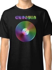 Groovin - Vinyl LP Record & Text - Metallic - Rainbow Classic T-Shirt