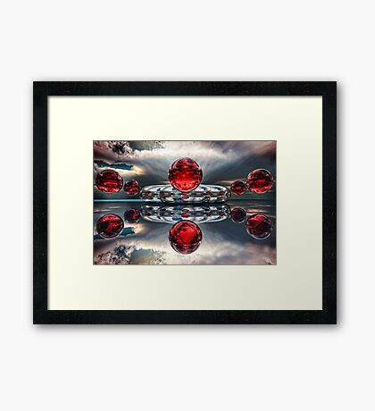 Light Mass Prayers Framed Print