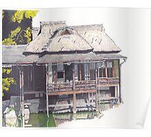 Hakkeitei Guesthouse, Hikone, Japan Poster