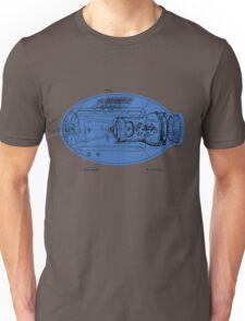 Mega Buster Schematic Shirt Unisex T-Shirt