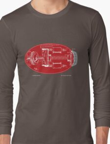 Proto Buster Schematic Shirt Long Sleeve T-Shirt