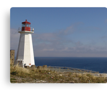 Lighthouse, Chebucto Head Canvas Print