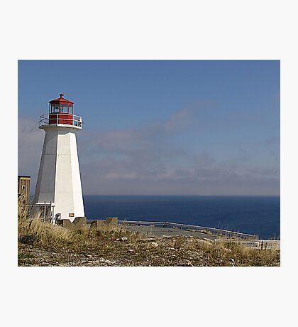 Lighthouse, Chebucto Head Photographic Print