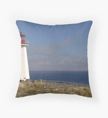 Lighthouse, Chebucto Head Throw Pillow