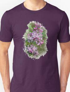 Lilac Watercolor Art Unisex T-Shirt