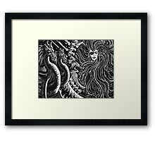 """""""Encounter With Circe"""" Framed Print"""