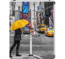 Travel in New York city iPad Case/Skin