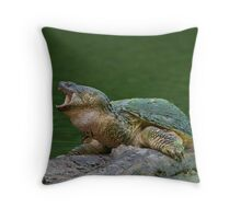 Holy Snapper! Throw Pillow