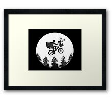 The Extraterrestrial Cowboy Framed Print