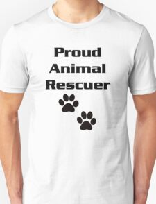 Proud Animal Rescuer T-Shirt
