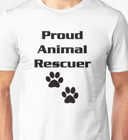 Proud Animal Rescuer Unisex T-Shirt