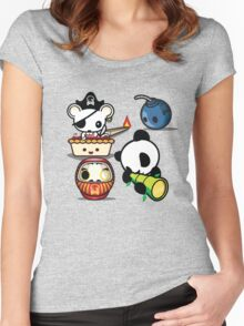 Mikoto 4th Birthday Women's Fitted Scoop T-Shirt