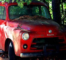 Red Dodge by JLBphoto