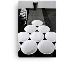 Beer Pong at Best Canvas Print