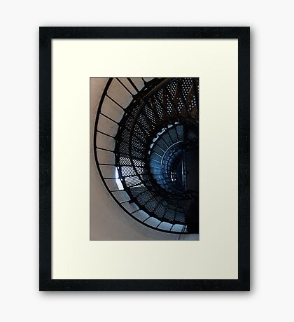219 Steps to the Top Framed Print