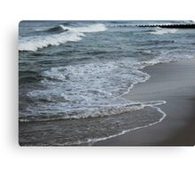 Wave Layers Canvas Print