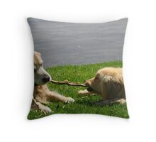 Now Porter, we share remember? Throw Pillow