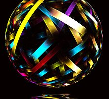 Glass Ball by Pam Amos