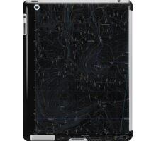 USGS Topo Map Oregon Pinhead Buttes 20110811 TM Inverted iPad Case/Skin