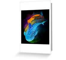 SouMomo Neon Watercolor Greeting Card