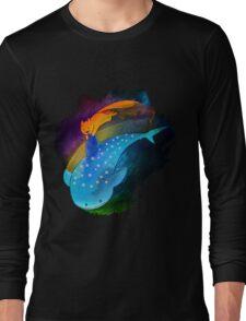 SouMomo Neon Watercolor Long Sleeve T-Shirt