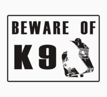 Beware K 9 Kids Tee