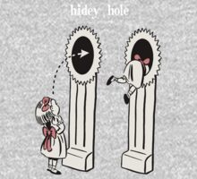 BioShock – Hidey Hole Poster (White) by PonchTheOwl