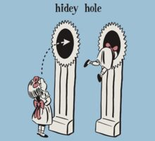 BioShock – Hidey Hole Poster (Black) by PonchTheOwl