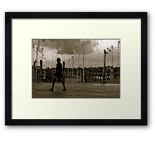 water games.. Framed Print