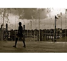 water games.. Photographic Print