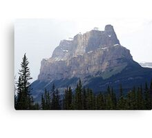 Castle Mountain Canvas Print